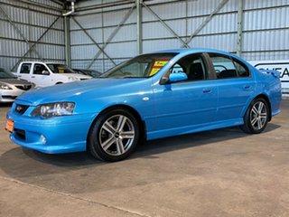 2004 Ford Falcon BA Mk II XR6 Blue 4 Speed Sports Automatic Sedan.