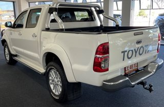 2013 Toyota Hilux KUN26R MY12 SR5 Double Cab White 5 Speed Manual Utility