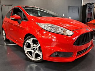2013 Ford Fiesta WZ ST Red 6 Speed Manual Hatchback.