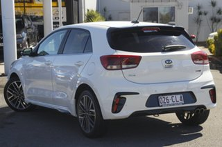 2020 Kia Rio YB MY21 GT-Line DCT Clear White/matching 7 Speed Sports Automatic Dual Clutch Hatchback.