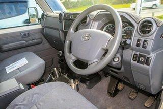 2014 Toyota Landcruiser VDJ76R MY13 GXL French Vanilla 5 Speed Manual Wagon