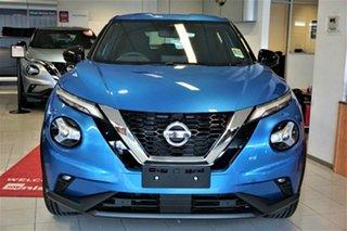 2020 Nissan Juke F16 ST+ DCT 2WD Vivid Blue 7 Speed Sports Automatic Dual Clutch Hatchback.