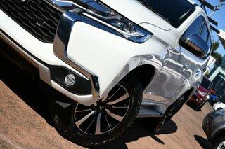 2018 Mitsubishi Pajero Sport QE MY19 GLS (4x4) 7 Seat White 8 Speed Automatic Wagon.