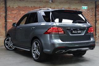 2016 Mercedes-Benz GLE-Class W166 807MY GLE350 d 9G-Tronic 4MATIC Selenite Grey 9 Speed.