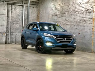 2016 Hyundai Tucson TL MY17 30 D-CT AWD Special Edition Blue 7 Speed Sports Automatic Dual Clutch.