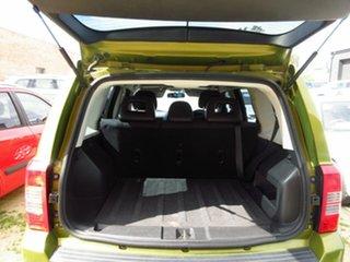 2012 Jeep Patriot MK MY12 Sport (4x2) Green 6 Speed CVT Auto Sequential Wagon