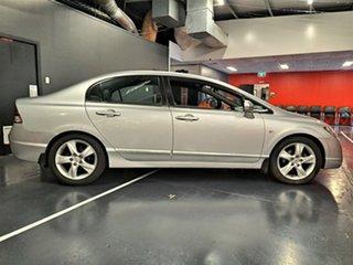 2006 Honda Civic 8th Gen VTi Metallic Silver 5 Speed Automatic Sedan.