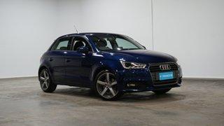 2018 Audi A1 8X MY18 Sport Sportback S Tronic Blue 7 Speed Sports Automatic Dual Clutch Hatchback.