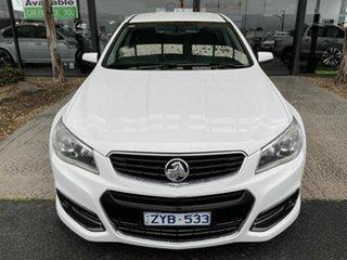 2013 Holden Commodore VF SS White 6 Speed Automatic Sedan.