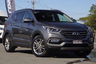 2016 Hyundai Santa Fe DM3 MY16 Highlander Titanium Silver 6 Speed Sports Automatic Wagon.