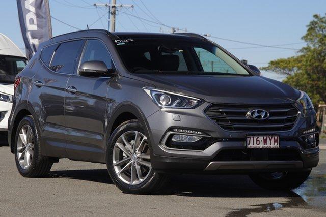 Used Hyundai Santa Fe DM3 MY16 Highlander Rocklea, 2016 Hyundai Santa Fe DM3 MY16 Highlander Titanium Silver 6 Speed Sports Automatic Wagon