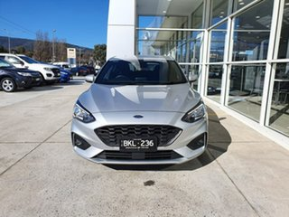 2020 Ford Focus SA 2020.25MY ST-Line Silver 8 Speed Automatic Hatchback.