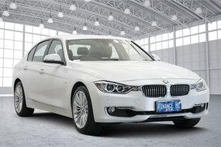 2012 BMW 3 Series F30 MY0812 328i White 8 Speed Sports Automatic Sedan.