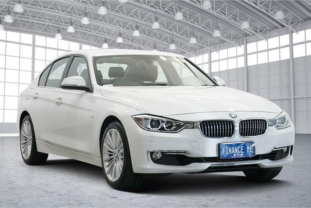 Used BMW 3 Series F30 MY0812 328i Victoria Park, 2012 BMW 3 Series F30 MY0812 328i White 8 Speed Sports Automatic Sedan
