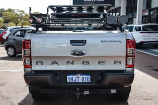 2016 Ford Ranger PX MkII Wildtrak Double Cab Silver 6 Speed Manual Utility