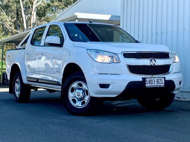 Used Holden Colorado RG MY14 LX Crew Cab Clare, 2013 Holden Colorado RG MY14 LX Crew Cab White 6 Speed Sports Automatic Utility