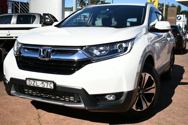 Used Honda CR-V MY18 VTi (2WD) Brookvale, 2018 Honda CR-V MY18 VTi (2WD) White Continuous Variable Wagon
