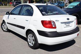 2006 Kia Rio JB MY06 EX-L White 5 Speed Manual Sedan