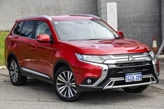 2019 Mitsubishi Outlander ZL MY19 LS 2WD Red 6 Speed Constant Variable Wagon.