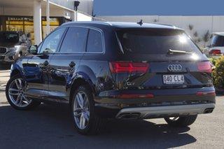 2015 Audi Q7 4M MY16 TDI Tiptronic Quattro Black 8 Speed Sports Automatic Wagon.