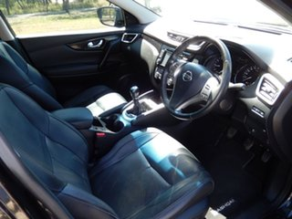 2016 Nissan Qashqai J11 TI Black 6 Speed Manual Wagon