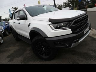 2019 Ford Ranger PX MkIII 2019.75MY Raptor Arctic White 10 Speed Sports Automatic Double Cab Pick Up.