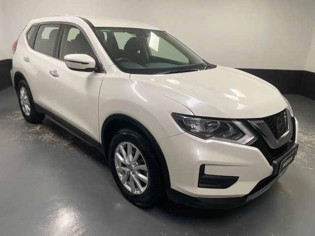 Used Nissan X-Trail T32 Series II ST X-tronic 2WD Hamilton, 2019 Nissan X-Trail T32 Series II ST X-tronic 2WD White 7 Speed Constant Variable Wagon