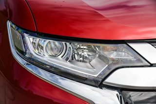 2019 Mitsubishi Outlander ZL MY19 LS 2WD Red 6 Speed Constant Variable Wagon