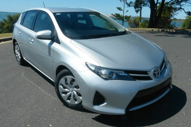 Used Toyota Corolla ZRE182R Ascent S-CVT Gladstone, 2014 Toyota Corolla ZRE182R Ascent S-CVT Silver 7 Speed Constant Variable Hatchback