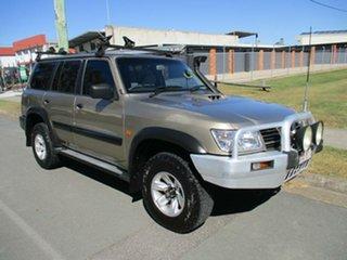 2003 Nissan Patrol GU III MY2003 ST Gold 5 Speed Manual Wagon.