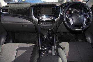 2017 Mitsubishi Triton MQ MY17 GLS Double Cab White Solid 6 Speed Manual Utility