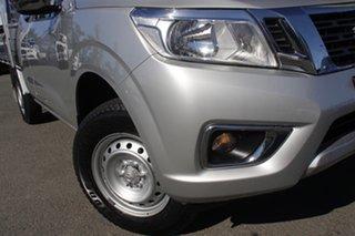2017 Nissan Navara D23 S2 RX King Cab 4x2 Brilliant Silver 6 Speed Manual Cab Chassis.