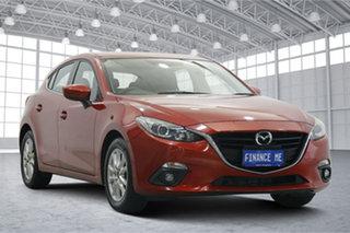 2015 Mazda 3 BM5276 Maxx SKYACTIV-MT Red 6 Speed Manual Sedan.