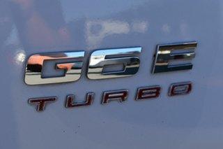 2010 Ford Falcon FG Upgrade G6E Turbo White 6 Speed Automatic Sedan