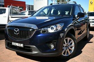 2012 Mazda CX-5 Maxx Sport (4x2) Blue 6 Speed Automatic Wagon.
