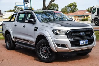 2017 Ford Ranger PX MkII FX4 Double Cab Silver 6 Speed Sports Automatic Utility.