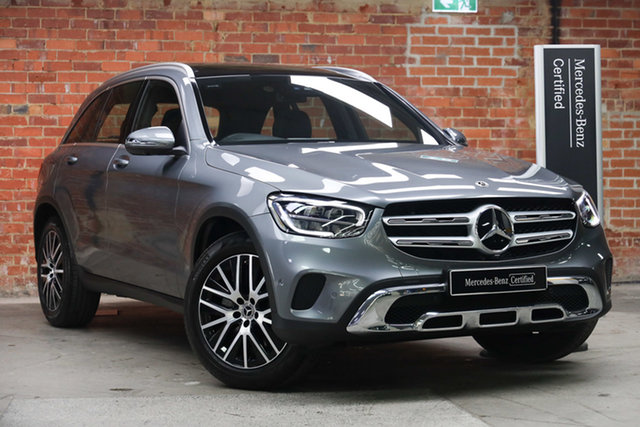 Certified Pre-Owned Mercedes-Benz GLC-Class X253 800+050MY GLC200 9G-Tronic Mulgrave, 2020 Mercedes-Benz GLC-Class X253 800+050MY GLC200 9G-Tronic Selenite Grey 9 Speed Sports Automatic