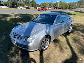 2004 Mercedes-Benz CLK-Class A209 CLK240 Elegance Silver 5 Speed Automatic Cabriolet.
