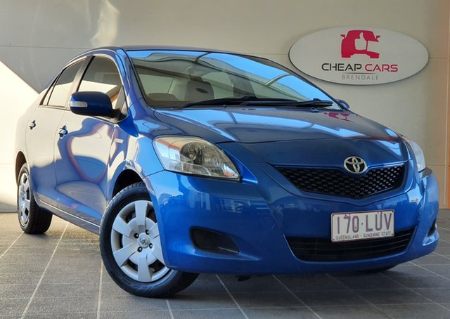 Used Toyota Yaris NCP93R MY09 YRS Brendale, 2009 Toyota Yaris NCP93R MY09 YRS Blue 4 Speed Automatic Sedan