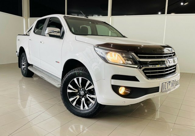 Used Holden Colorado RG MY17 LTZ Pickup Crew Cab Deer Park, 2017 Holden Colorado RG MY17 LTZ Pickup Crew Cab White 6 Speed Sports Automatic Utility