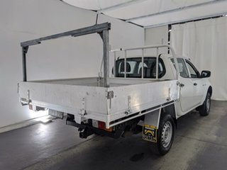 2011 Mitsubishi Triton MN MY11 GLX Double Cab 4x2 White 5 Speed Manual Utility