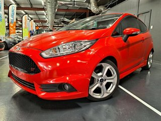 2013 Ford Fiesta WZ ST Red 6 Speed Manual Hatchback