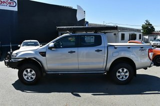 2014 Ford Ranger PX XLS 3.2 (4x4) Silver 6 Speed Manual Double Cab Pick Up