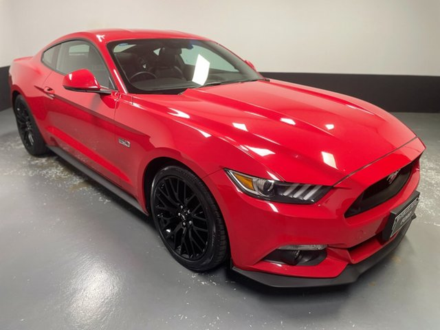 Used Ford Mustang FM 2017MY GT Fastback SelectShift Newcastle West, 2017 Ford Mustang FM 2017MY GT Fastback SelectShift Race Red 6 Speed Sports Automatic Fastback
