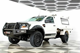 2016 Ford Ranger PX MkII MY17 XL 2.2 Hi-Rider (4x2) White 6 Speed Automatic Cab Chassis