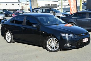 2014 Ford Falcon FG MK2 XR6T Black 6 Speed Auto Seq Sportshift Sedan.