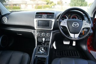 2009 Mazda 6 GH Luxury Sports Red 5 Speed Auto Activematic Hatchback