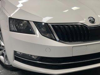 2019 Skoda Octavia NE MY19 110TSI DSG White 7 Speed Sports Automatic Dual Clutch Wagon.