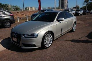 2012 Audi A4 B8 8K MY12 S Tronic Quattro Premium Silver 7 Speed CVT Multitronic Sedan.