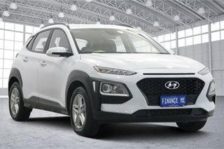 2020 Hyundai Kona Os.v4 MY21 Active 2WD White 8 Speed Constant Variable Wagon.
